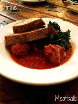 Citrine-Meatballs