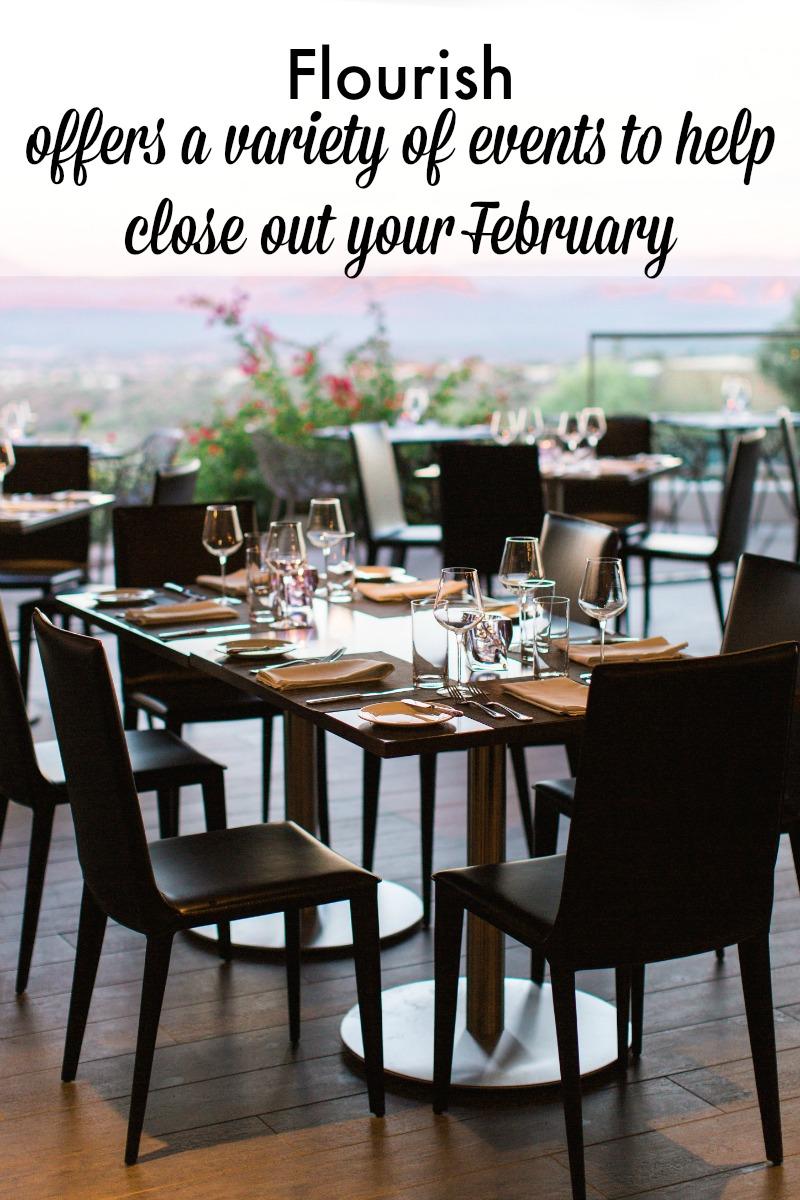 Flourish shares February Events