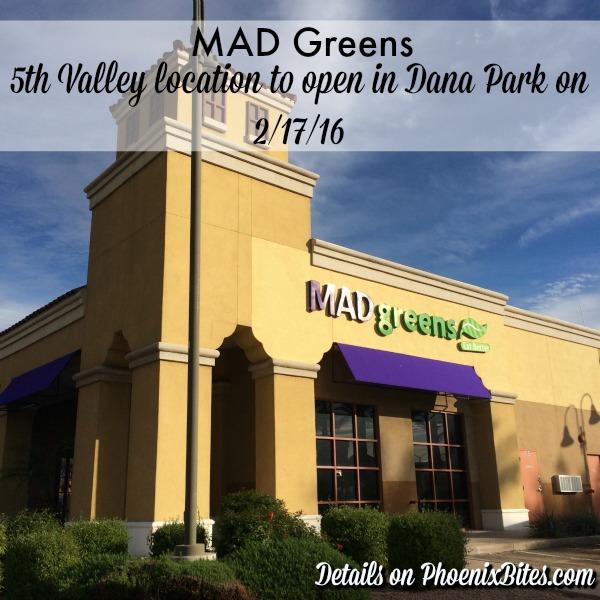 MAD Greens Dana Park Location