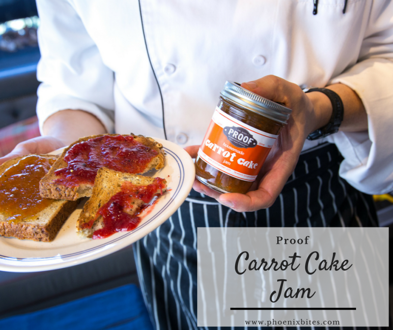Take-Home Holiday Desserts to Pick Up in Scottsdale: Proof's Carrot Cake Jam