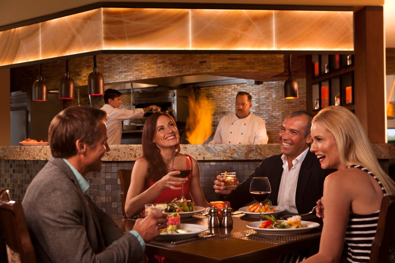 Enjoy Christmas Eve Dinner at The Boulders