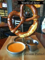 World of Beer German Pretzel