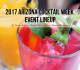 2017 Arizona Cocktail Week Event LineUp