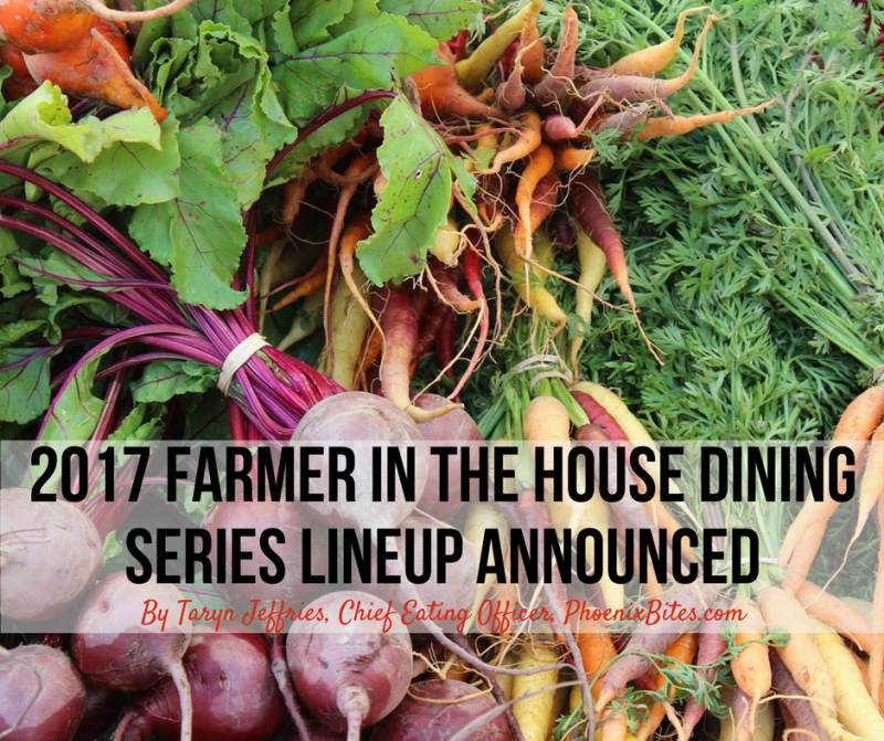 2017 Farmer in the House Dining Series Lineup Announced