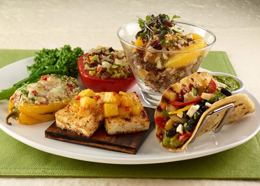Summer Vegetarian Tasting