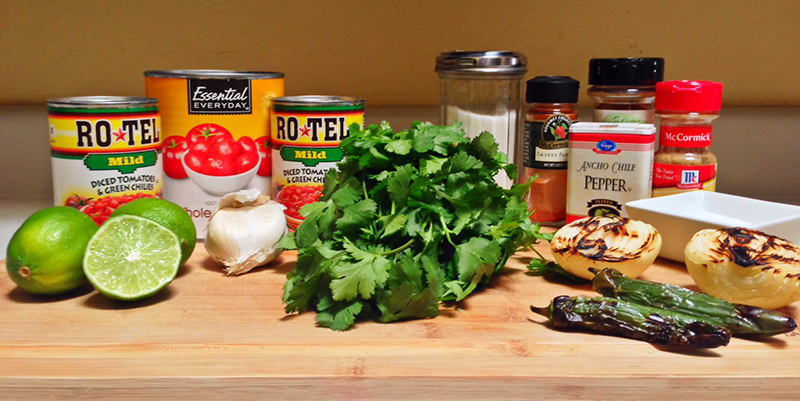Everything you'll need for a quick (and highly addictive) salsa