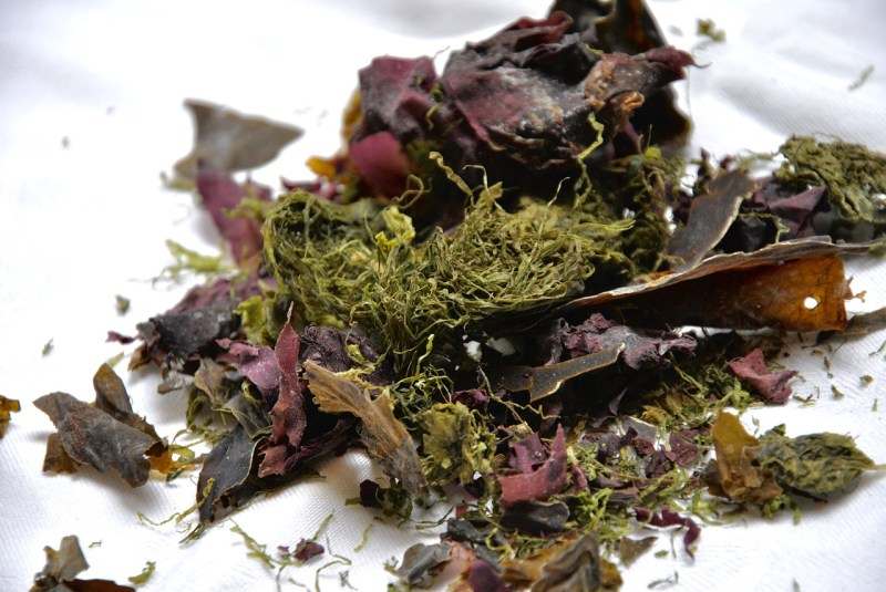 Seaweed: Foods that help to ease anxiety