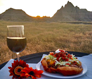 Forever Resorts | Badlands Cedar Pass Lodge | Sioux Indian Tacos