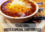 TEXAZ Grill Hosts a Special Chili Contest