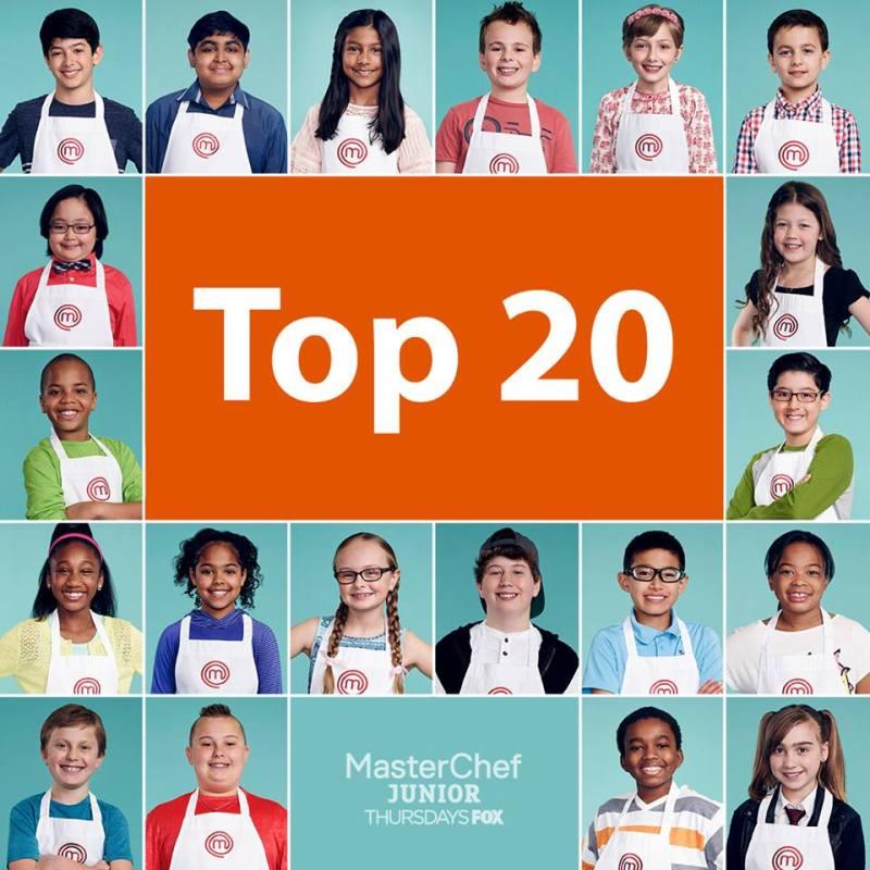 masterchef junior season 5 top 20 contestants