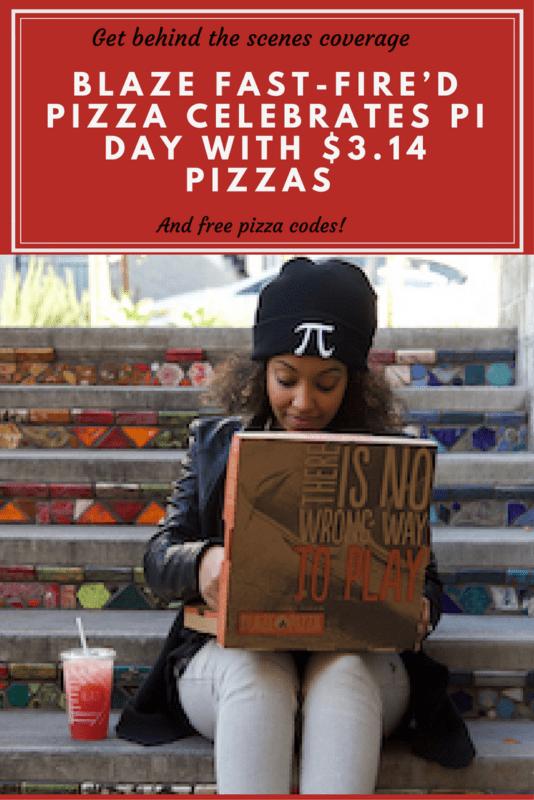 BLAZE PIZZA CELEBRATES PI DAY WITH $3.14 PIZZAS