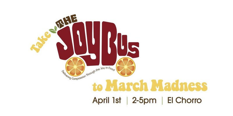 Take the Joy Bus to March Madness