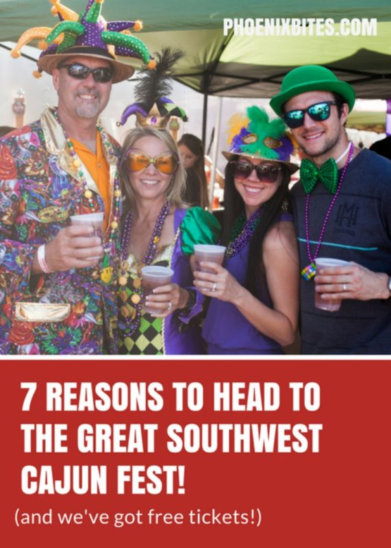 7 Reasons to Head to the Great Southwest Cajun Fest!