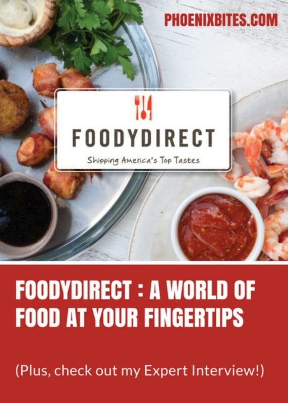 FoodyDirect : A World of Food at Your Fingertips