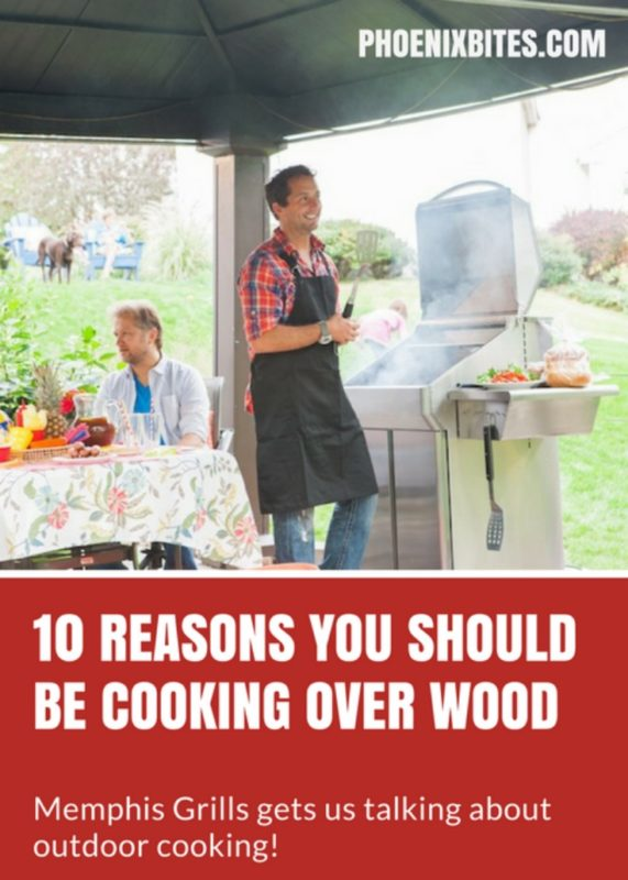 Memphis Grills Shares 10 Reasons to Cook Over Wood