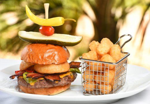 The Cowboy Burger at Relish Burger Bistro