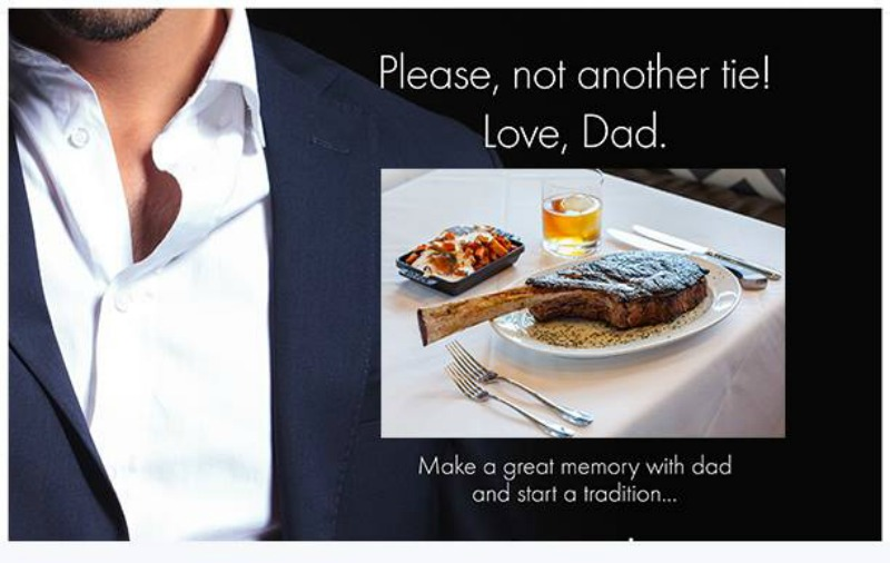 Fathers Day at Steak 44