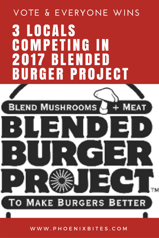 Locals competing in 2017 Blended Burger Project