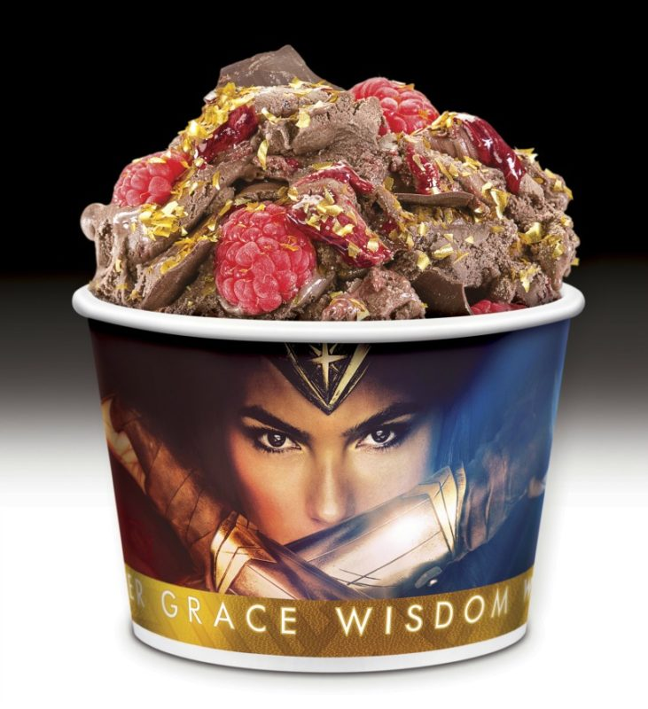 Wonder Woman Inspired Treats from Cold Stone Creamery