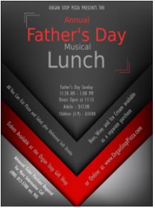 Fathers Day at organ stop pizza