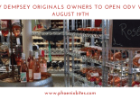 TRACY DEMPSEY ORIGINALS OWNERS TO OPEN ODV WINES AUGUST 19TH
