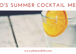 evo's summer cocktail menu fb