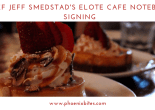 Chef Jeff Smedstad's Cookbook Signing
