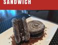 Cookies and Cream Churro Ice Cream Sandwich