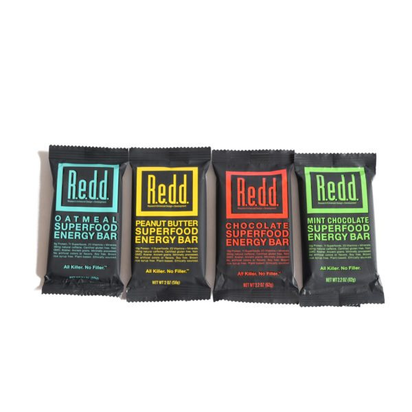 redd superfood vegan energy bars