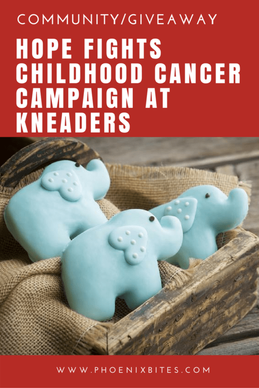 Hope Fights Childhood Cancer Campaign at Kneaders