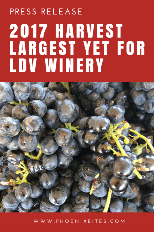 2017 Harvest Largest Yet for LDV Winery