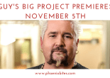 Guy Fieri's new show, Guy's Big Project, Premieres November 5th (1)