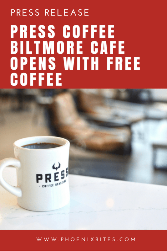 Press Coffee Biltmore Cafe Opens With Free Coffee