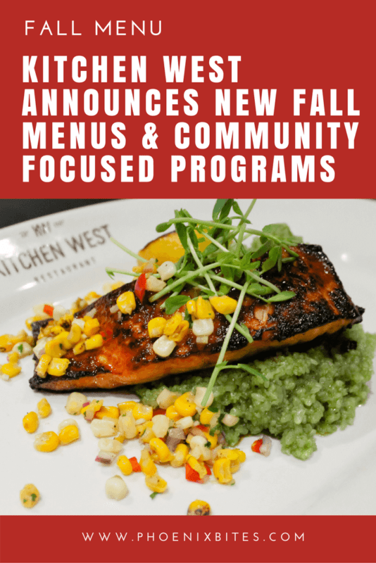 Kitchen West Announces New Fall Menus & Community Focused Programs
