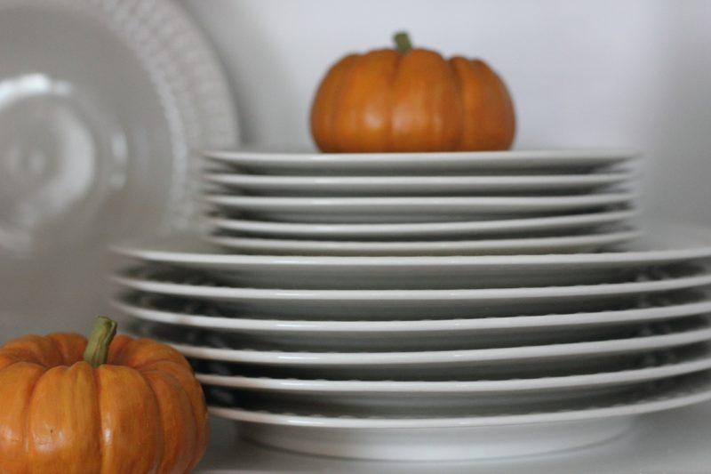 Fall holiday dinner