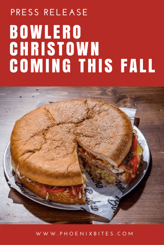Bowlero Christown Coming This Fall