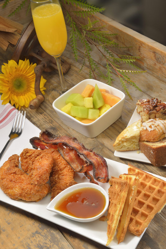 Salty Sow's Chicken & Waffles