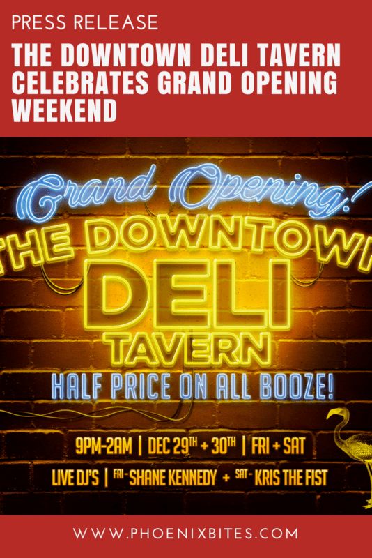 The Downtown Deli Tavern Celebrates Grand Opening Weekend
