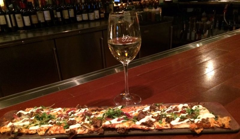 Seasons 52 Happy Hour Flatbread