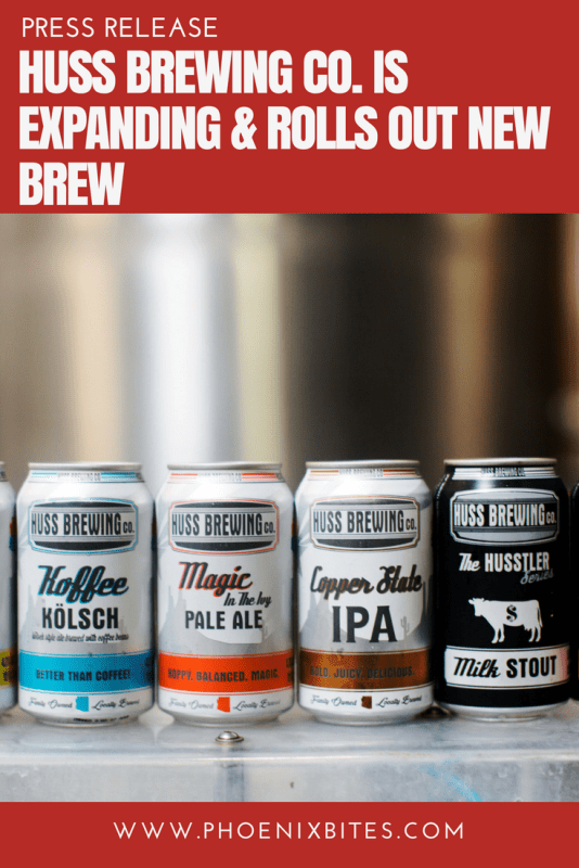 Huss Brewing Co. Is Expanding & Rolls Out New Brew