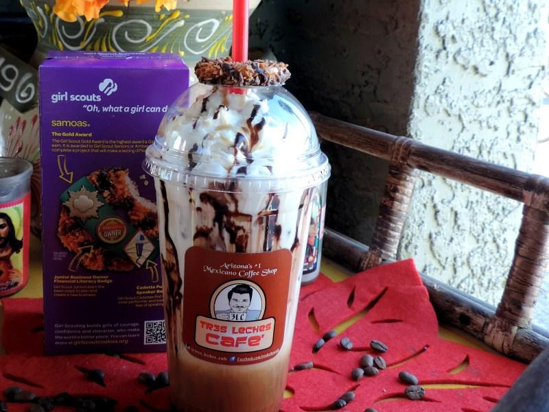 Tres Leches Cafe Samoa Mas Latte
