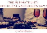 Your ultimate list _ where to eat valentine's day 2018