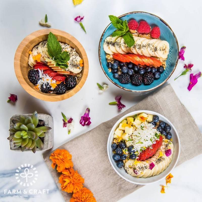 farm and craft acai bowls