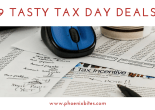 9 tasty tax day deals