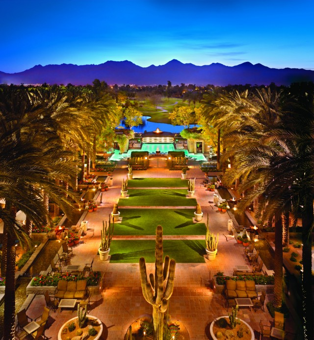 Hyatt Regency Scottsdale Resort & Spa exterior