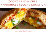 Zookz Sandwiches Announces Second Location