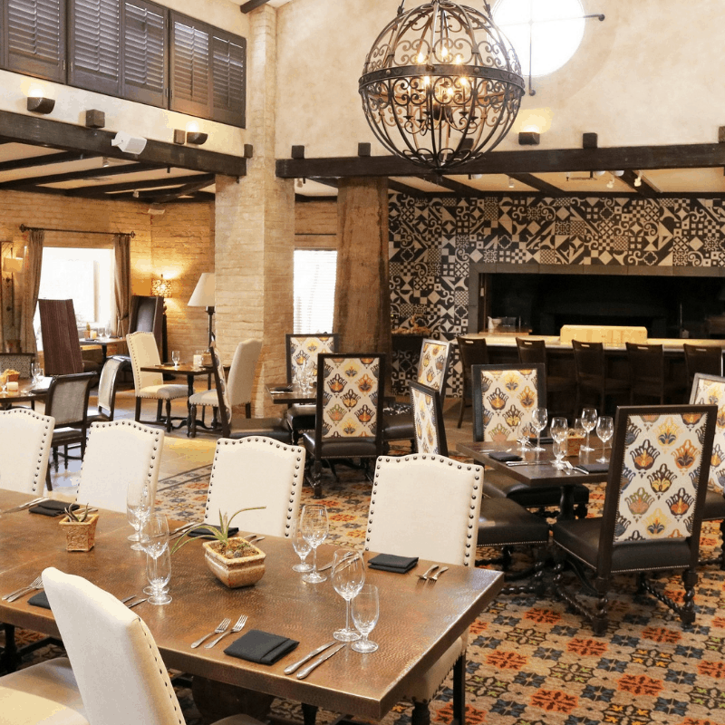 2018 Thanksgiving dinner at Royal Palm