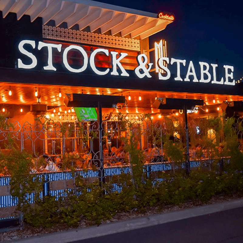 Stock & Stable exterior