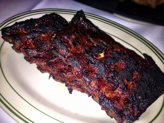 Charred Baby Back Ribs, Don's Way