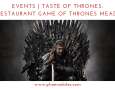 Events Taste of Thrones Match Restaurant Game of Thrones Mead Dinner
